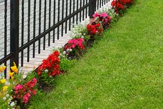 front yard garden fence