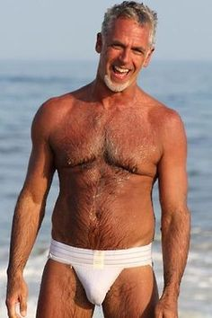 Mature gay male silver foxes