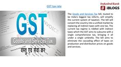 GST rate will make a common indirect tax code applicable in India and this will be helpful for business as well consumer. Goods And Service Tax, Goods And Services, Indirect Tax, Tax Rate, Coding, India, Marketing, Business, Goa India