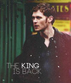 #TheOriginals - Niklaus 'Klaus' Mikaelson