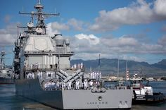 BAE Systems San Diego Ship Repair, California, was awarded a $25,4 million modification to a previously awarded contract for USS Lake Erie (CG 70) in fiscal 2014 for maintenance, alterations, and modifications that will update and improve the ship's military and technical capabilities.