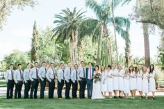Desert Wedding Party    Jane in the Woods    Mesa Wedding Photographer at the Mesa Temple