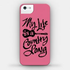 countrymusic My Life is a Country Song (iPhone 4 / / 5 Case) from Howdy Girl Funny Phone Cases, Iphone Cases Cute, Ipod Cases, Cute Cases, Diy Phone Case, Phone Covers, Cellphone Case, Galaxy S3, Country Songs
