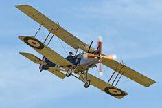 Royal Aircraft Factory R.E.8 #biplane #WW1