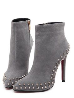 Boots women,ღ Gone are the days when ankle boots represented only the roughs. Today ankle boots are the new statement for charming beauties. It time to rock when you walk! High Heel Boots, Ankle Boots, Heeled Boots, Bootie Boots, Boot Socks, Zapatos Shoes, Shoes Heels, Cute Shoes, Me Too Shoes