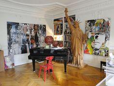 more pop art in Paris...