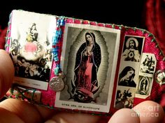 Tiny Travel Altar Photograph by Lainie Wrightson - Tiny Travel Altar Fine Art Prints and Posters for Sale Catholic Crafts, Catholic Art, Religious Art, Prayer Box, Prayer Flags, Religion Catolica, Holy Mary, Mexican Folk Art, Blessed Mother