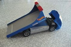 Tow truck pinewood derby car