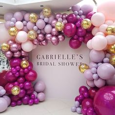 Sharing one more image of these gorgoues and intense colours we created for @_hairbygabrielle and @karlaroccuzzo #bridalshower #balloonsmelbourne