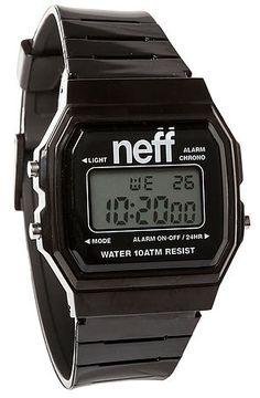 NEFF Watch Flava XL in Black $30 USE CODE NEWGEAR14 for 20% OFF!