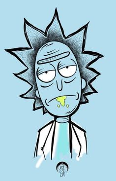33 ideas drawing trippy rick and morty Trippy Rick And Morty, Rick And Morty Drawing, Rick I Morty, Rick And Morty Tattoo, Cartoon Drawings, Cool Drawings, Wallpaper Iphone Neon, Stoner Art, Skeleton Art