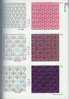 Best 11 40 Free Crochet Stitches from Daisy Farm Crafts – DiyForYou – SkillOfKing. Crochet Stitches Chart, Crochet Symbols, Crochet Motifs, Crochet Diagram, Crochet Basics, Knitting Stitches, Free Crochet, Knitting Patterns, Crochet Patterns