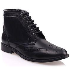Unze Für Männer Moeeb 'Leder Formal Boots - G00599 - http://on-line-kaufen.de/kobbler/unze-fuer-maenner-moeeb-leder-formal-boots-g00599