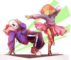 Dancetale sans and frisk
