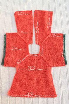 Crochet bebe patrones spanish tejidos Ideas for 2019 Baby Knitting Patterns, Knitting For Kids, Free Knitting, Doll Clothes Patterns, Clothing Patterns, Baby Cardigan, Baby Vest, Knit Cardigan, Baby Sweaters