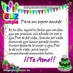 Feliz Cumpleanos Esposo Amor Pinterest Happy Birthday Quotes