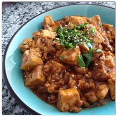 korean style - mapo tofu  http://thekitchenrunner01.blogspot.ca/ for recipe