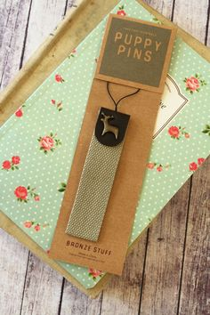 Puppy Pins gadget strap zakka cute animal camera mobile phone wristlet gift idea