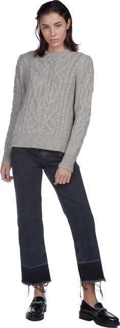 Gayle Chunky Fisherman Sweater | Isabel Marant | LOIT