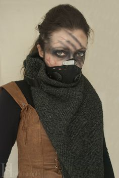 Post Apocalyptic character make up