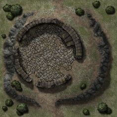 Ruined Tower TileDT30 by Madcowchef on DeviantArt