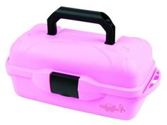 Flambeau 1 Tray Tackle Box 1515 Fishing Tackle Tool Box Color Pink