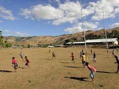 Fiji village rugby