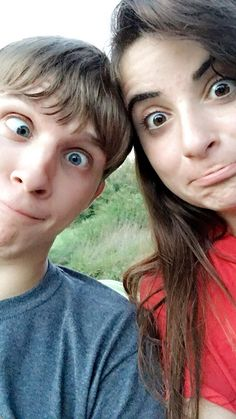 I'm so glad to be able to act like an idiot with someone who means so much to me! 😊😘😂 #dorks #perfectforeachother