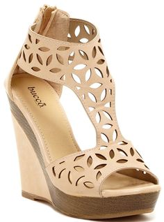 Bucco Lachance Womens Fashion Wedge Sandals *** You can find out more details at the link of the image.