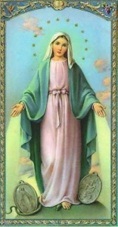El día 27 de noviembre de 1830 la bondadosa, solícita y buena madre del cielo, le mostró a santa Catalina Labouré, con una visión, ...
