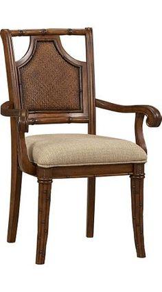 Dining/Kitchen Furniture, Antigua Splat-back Armchair, Dining/Kitchen Furniture   Havertys Furniture