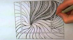Zen Tangle #2 - Peter Draws on YouTube