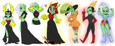 It's about that time of year I get my annual obsession with Wander over Yonder, so here's some genderbends and a lot of Dominator