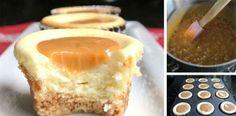 Recept na karamelové cheesecake muffiny