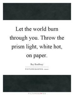 Ray Bradbury's Best Writing Advice