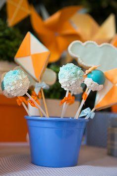 Pinwheels and Kites Party with So Many Cute Ideas via Kara's Party Ideas   KarasPartyIdeas.com #PinwheelsParty #KiteParty #PartyIdeas #Supplies (12)