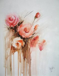 flower painting by Vesna Grundler ...BTW,Please Check this out: http://artcaffeine.imobi...