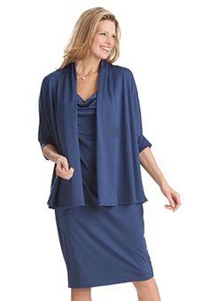 Plus Size Jacket & dress set | Plus Size dressy sets | Woman Within