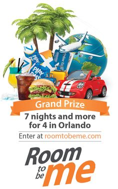 Vacations give me #RoomToBeMe. So I repinned it for a chance to win a 7-night stay in Orlando, FL and more! You can too! http://ihg.co/RoomToBeMe