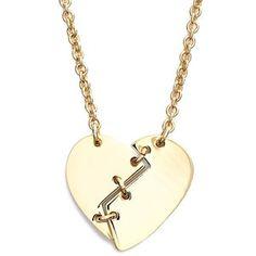 Marc by Marc Jacobs 'Broken Heart' Pendant Necklace