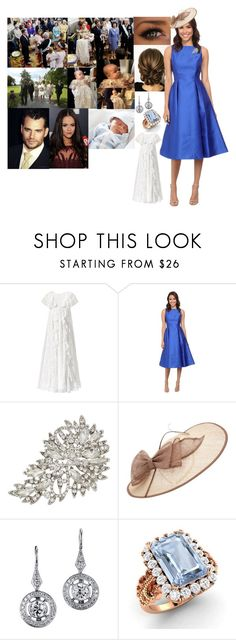 """""""Princess Arielle Francesca and Prince Henry Arriving at the Christening of Their son Prince Orion James Arthur"""" by dawn-wales ❤ liked on Polyvore featuring Monsoon, Adrianna Papell, John Lewis, Diamondere and Pippa"""