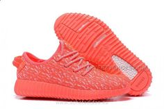 www.airyeezyshoes... Only$60.00 2016 ADIDAS YEEZY 350 BOOST FEMME RUNNING CHAUSSURES ORANGE ROSE (ACHETER YEEZY) Free Shipping!