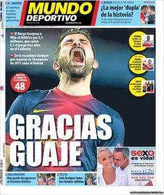 Los Titulares y Portadas de Noticias Destacadas Españolas del 9 de Julio de 2013 del Diario Mundo Deportivo ¿Que le parecio esta Portada de este Diario Español?