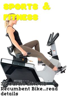 (This is an affiliate pin) 3G Cardio Elite RB Recumbent Bike