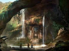 Fantasy Landscape Desert Artists New Ideas Fantasy City, Fantasy Castle, Fantasy Places, Medieval Fantasy, Fantasy World, Fantasy Landscape, Landscape Art, Fantasy Setting, Matte Painting