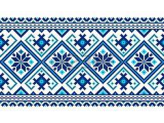 Find Vector Illustration Ukrainian Seamless Pattern Ornament stock images in HD and millions of other royalty-free stock photos, illustrations and vectors in the Shutterstock collection. Xmas Cross Stitch, Cross Stitch Charts, Cross Stitch Embroidery, Embroidery Patterns, Cross Stitch Patterns, Knitting Patterns, Motifs Blackwork, Swedish Weaving Patterns, Funeral Cards