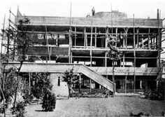 Le Corbusier, Villa at Garches, Under Construction, 1927