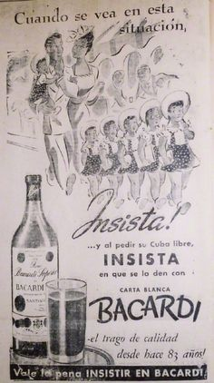 Bacardi, Vintage Bar, Vintage Design, Cuban Art, Poster Ads, Vintage Advertisements, Travel Posters, Vintage Posters, Life Is Good