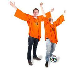 De Oranje Verlosser het unieke oranje WK shirt van 2014.