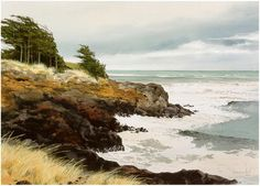 The Jeffrey Hull Gallery - Original Paintings, Watercolors, oils, Lithographs, Giclee, Cannon Beach, Oregon